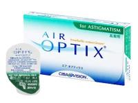 Акция Покупая упаковку - 3 контактные линзы Air Optix for Astigmatism - Вы получаете еще 1 линзу (можно брать 2+2).